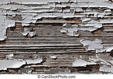 Wood wall wasted
