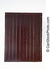 Wood window Old Style