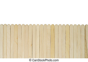 Wood with vertical separated for abstract background