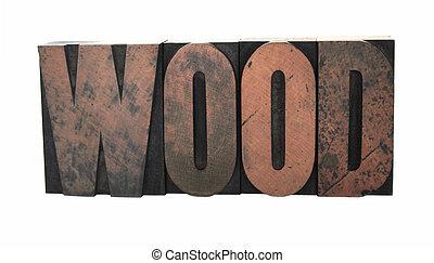 wood word