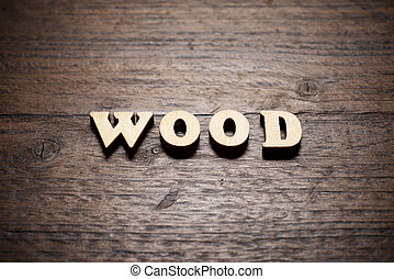 Wood word view