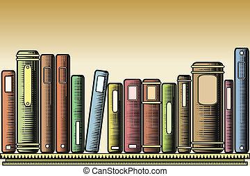 woodcut, libri