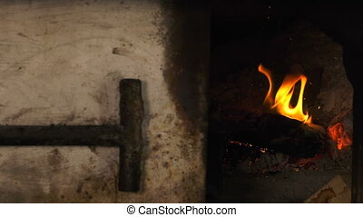 Woode Oven Fire