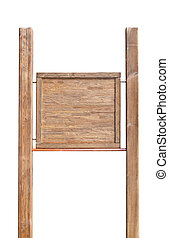 wooden add board