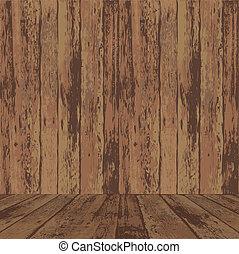wooden alkat, felszín