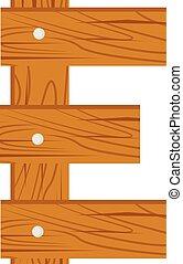 wooden alphabet E letter
