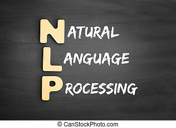 Wooden alphabets building the word NLP - Natural Language ...