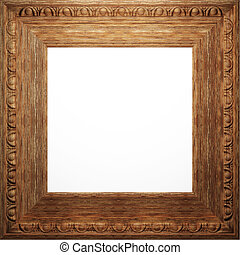 wooden antique frame