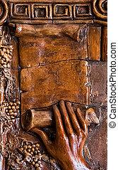 Wooden Art Background