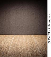 wooden asztal