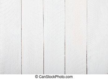 wooden asztal, white háttér