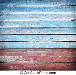 Wooden background board