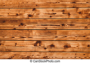 wooden background, brown texture, wall of boards