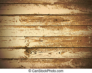 Wooden Background - Illustration of The Natural Wooden...