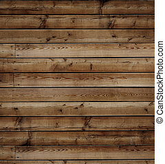 wooden background - old brown timber  floor background