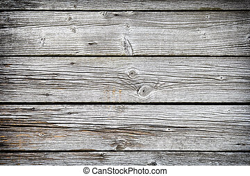 Wooden background. - Old wooden plank, wall and floor boards...