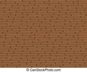 Wooden background texture, seamless wallpaper pattern. Vector illustration, brown.