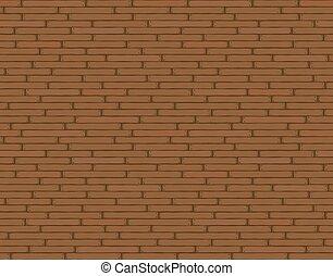 Wooden background texture, seamless wallpaper pattern. Vector illustration, brown.