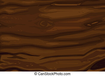 wooden background - illustration of abstract wooden brown...