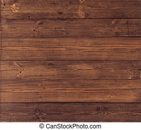 Wooden background. Brown grunge wood board texture