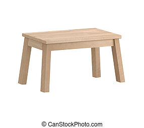 Wooden Backless Stool