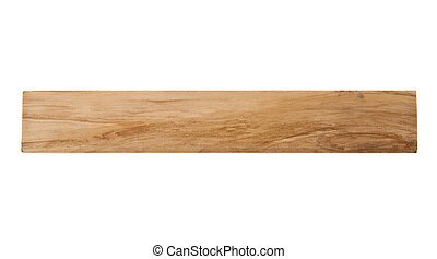 wooden bar isolated on white background