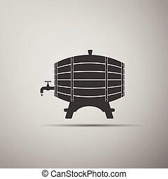Wooden Barrel icon.