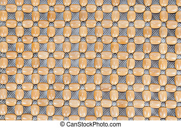 Wooden Beads Texture/ Background