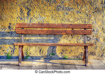 bench in hdr