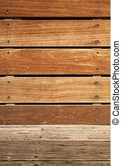 Wooden Bench Part