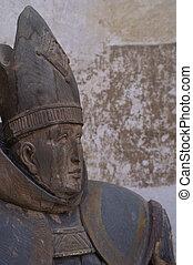 bishop - wooden bishop