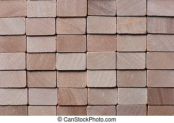 Wooden blocks abstract background