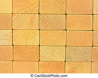 wooden blocks wall 2
