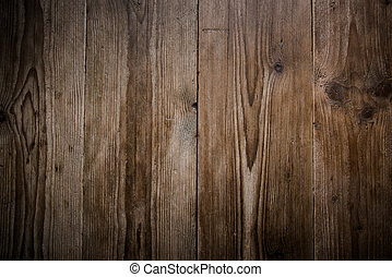 Wooden board background, rustic old wood