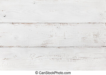 Wooden Board Painted White