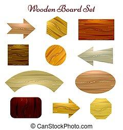 Wooden board set