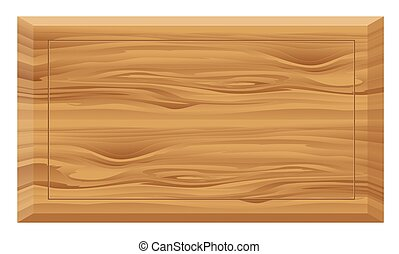 Wooden board , texture , background isolated on white