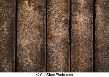 Wooden Board - Wooden board in close-up.