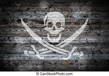 Wooden Boards Pirate