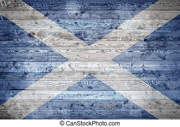 Wooden Boards Scotland - A vignetted background image of the...
