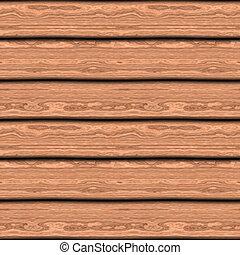 Wooden Boards Seamless Pattern