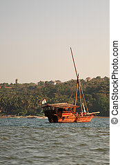 Wooden boat India