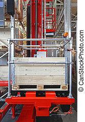 Automated Retrieval Warehouse