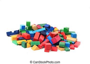 wooden bricks (toy)