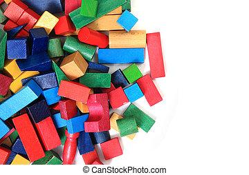 wooden bricks (toy)