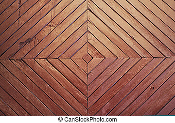Wooden brown background texture