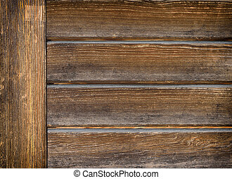 Wooden brown background