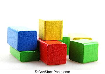 Wooden Building Blocks