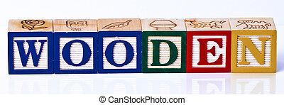 Wooden Childrens Blocks