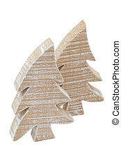 wooden christmastree